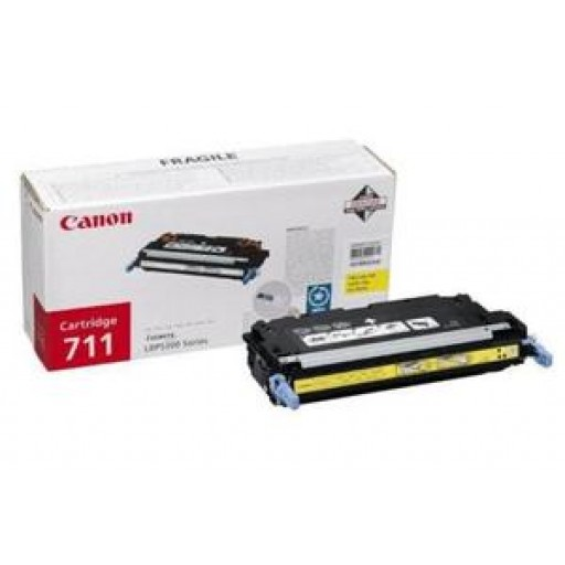 Canon 1657B002AA, Toner Cartridge Yellow, LBP5300, 5360, 8450, MF9130, 9170, 9220- Original