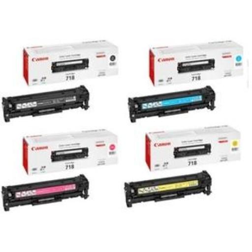 Canon 718, Toner Cartridge- Value Pack, LBP7200, 7660, 7680, MF8330, 8340- Genuine