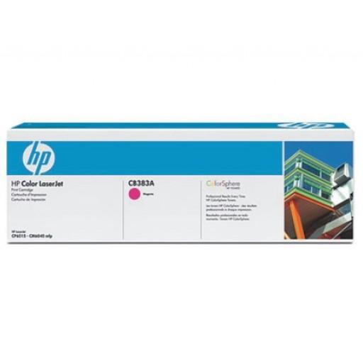 HP CB383A, Toner Cartridge- Magenta, CP6015, CM6030, CM6040- Original