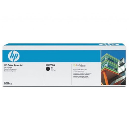 HP CB390A, Toner Cartridge Black, CM6030, CM6040- Original