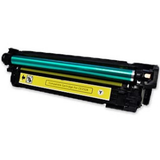 HP CE252A Toner Cartridge HC Yellow, CM3530, CP3520, CP3525 - Compatible