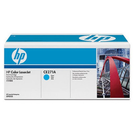 HP CE271A, Toner Cartridge Cyan, CP5520, 5525, M750XH- Original