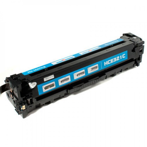 HP CE321A Toner Cartridge Cyan, 128A, CM1415, CP1525 - Compatible