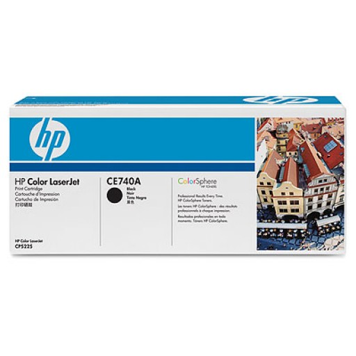 HP CE740A, Toner Cartridge- Black, CP5225- Original