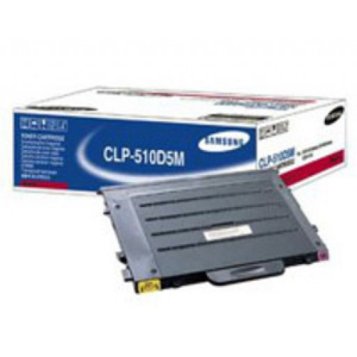 Samsung CLP-510D5M Toner Cartridge - HC Magenta Genuine