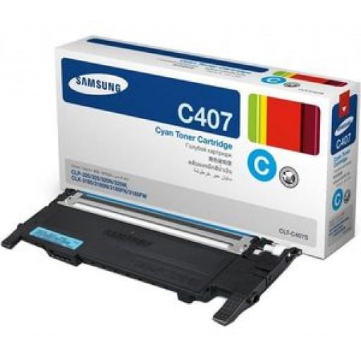 Samsung CLT-C4072S Toner Cartridge - Cyan Genuine
