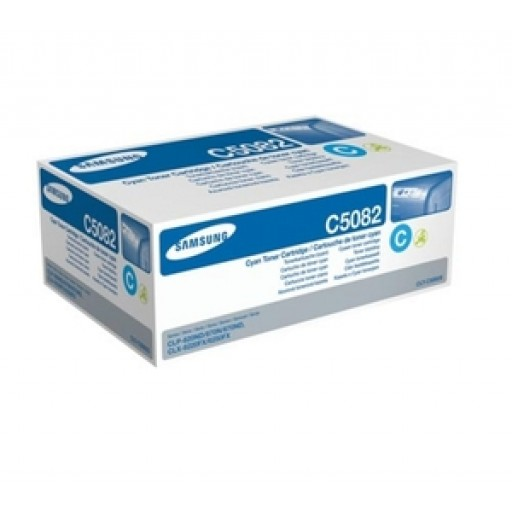 Samsung CLT-C5082S, Toner Cartridge Cyan, CLP-620, 670, CLX-6220FX, 6250FX- Original