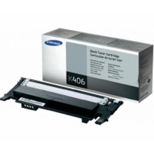 Samsung CLT-K406S/ELS Toner Cartridge - Black