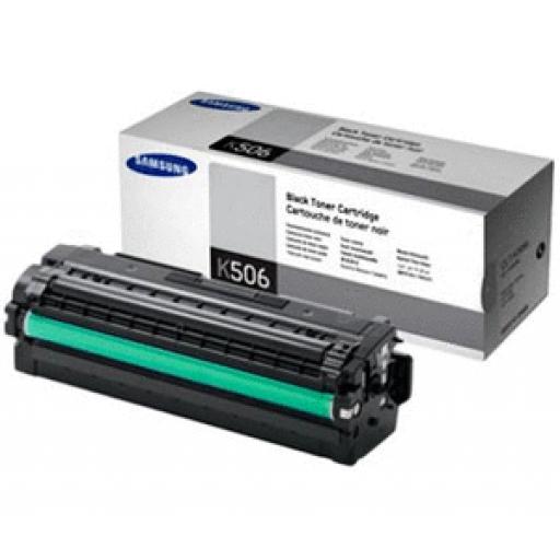 Samsung CLT-K506L/ELS Toner Cartridge - Black