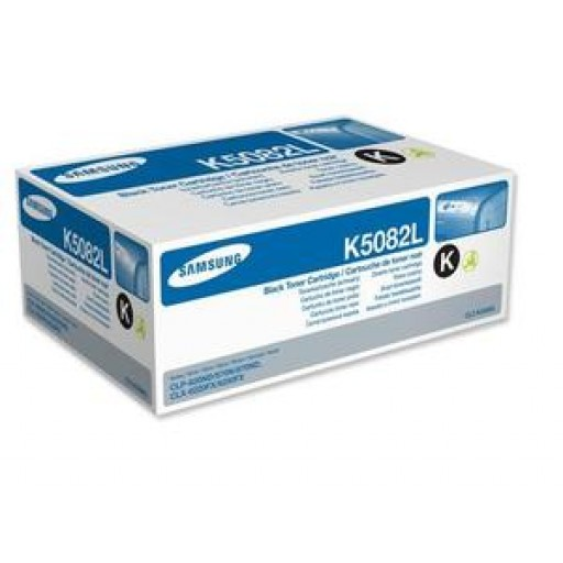 Samsung CLT-K5082L Toner Cartridge - HC Black Genuine