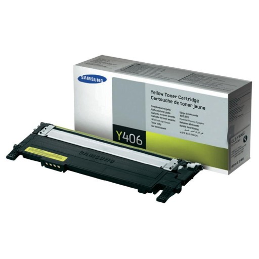 Samsung CLT-Y406S/ELS Toner Cartridge - Yellow