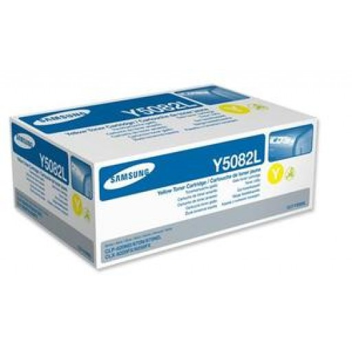 Samsung CLT-M5082L Toner Cartridge - HC Yellow Genuine