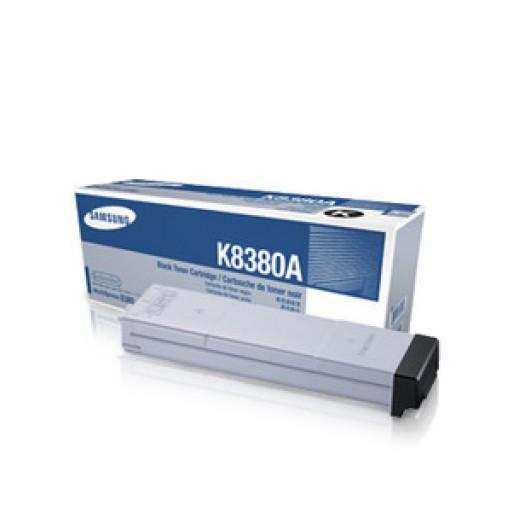 Samsung CLX-K8380A, Toner Cartridge Black, CLX 8380ND- Original