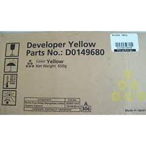 Ricoh D0149680, Developer Yellow, MP C6000, MP C7500- Original
