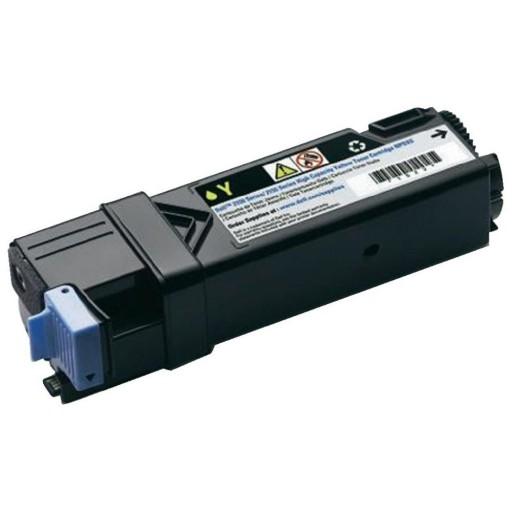Dell 593-11037, 2150/2155 High Capacity Toner Cartridge - Yellow