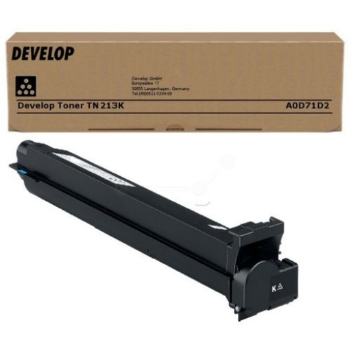 Develop TN-213K, Toner Cartridge Black, Ineo +203, +253- Original