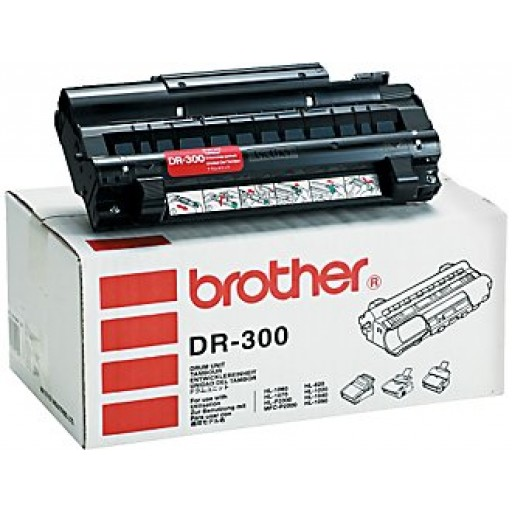 Brother HL1020,  HL1040, HL1050, HL1060, HL1070, HL810, HL820, HLP2000, MFCP2000, MFCP2500 Imaging Drum Unit - Black Genuine (DR300)