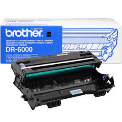 Brother Fax8360, HL1030, HL1230, HL1240, HL1250, HL1260, HL1270, HL1430, HL1440, HL1450, MFC9870, MFC9880 Imaging Drum Unit - Black Genuine (DR6000)