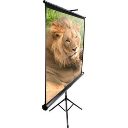 Elite T100UWH Tripod Pull Up Projection Screen