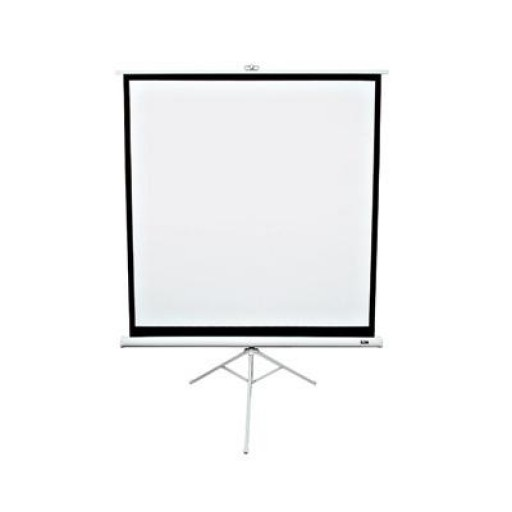 Elite  T136NWS1-WHITE Tripod Pull Up Projection Screen