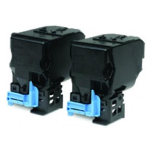 Epson C13S050594 Toner Cartridge Twin Pack, AcuLaser C3900, CX37D - Black Genuine