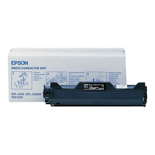 Epson C13S051029 Drum Cartridge, ELP 5000, 5200, 5500 - Genuine