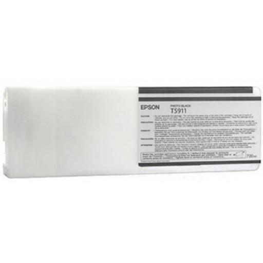 Epson C13T591100, T5911 Ink Cartridge, Stylus Pro 11880 - Photo Black Genuine
