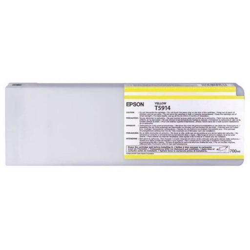 Epson C13T591400, T5914 Ink Cartridge, Stylus Pro 11880 - Yellow Genuine