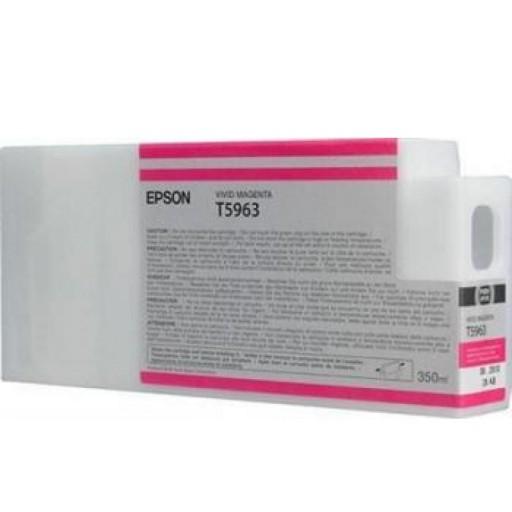 Epson C13T596300, T5965 Ink Cartridge, Stylus Pro 7700, 7890, 7900, 9700, 9890, 9900- Magenta Genuine