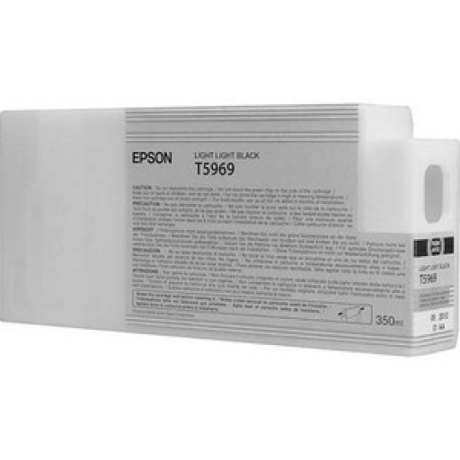 Epson C13T596900, T5969 Ink Cartridge, Stylus Pro 7700, 7890, 7900, 9700, 9890, 9900-Light Light Black Genuine