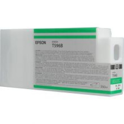 Epson C13T596B00, T596B Ink Cartridge, Stylus Pro 7700, 7890, 7900, 9700, 9890, 9900-Green Genuine