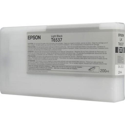 Epson C13T653700, T6537 Ink Cartridge, Stylus Pro 4900 - Light Black Genuine