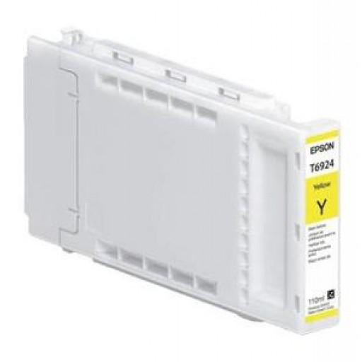 Epson C13T692400, T6924 Ink Cartridge, SureColor SC T3000, T5000, T7000 - Yellow Genuine