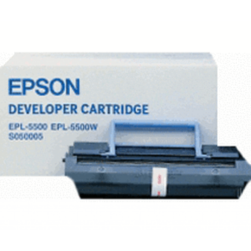 Epson S051005 Drum Unit, EPL 4000, 4100, 4300 - Black Genuine