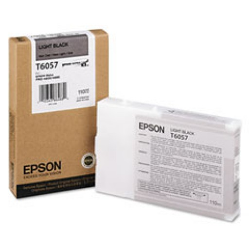 Epson T6057, C13T606700 Ink Cartridge, 4800, 4880 - Light Black Genuine