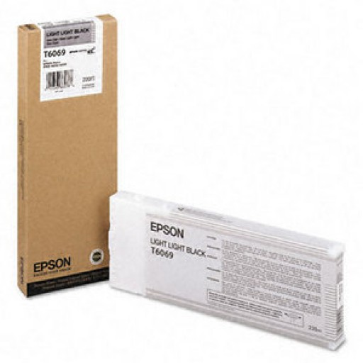 Epson T6069, C13T565900 Ink Cartridge, 4800, 4880 - HC Light Light Black Genuine