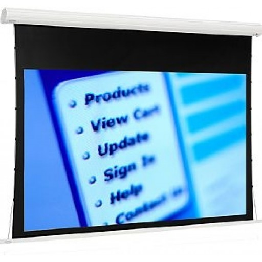 Euroscreen  MDTI1817-W Tensioned Diplomat Projection Screen