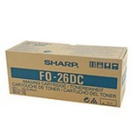 Sharp FO26DC Toner Cartridge - Black Genuine