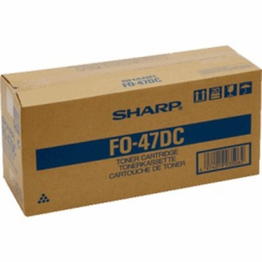 Sharp FO47DC Toner Cartridge - Black Genuine