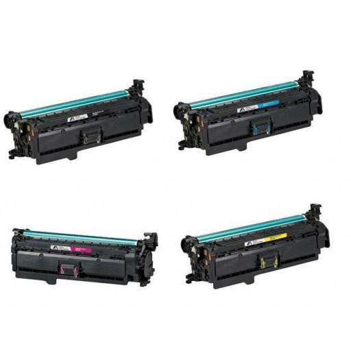 HP CM3530, CP3520, CP3525 Toner Cartridge HC Value Pack - Compatible