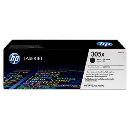 HP 305X HP M351, M375, M451, M475 Toner Cartridge - HC Black Genuine (CE410X)