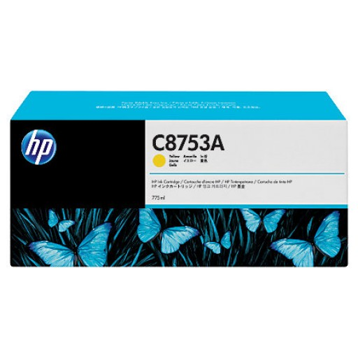 HP C8753A, Ink Cartridge Yellow, CM8050, CM8060- Original