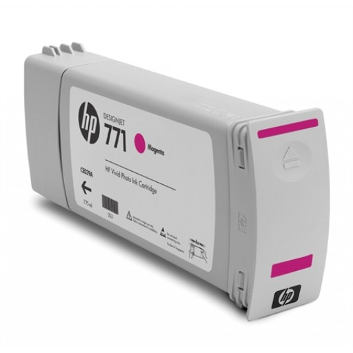 HP CE039A, 771 Ink Cartridge, Designjet Z6200 - Magenta Genuine
