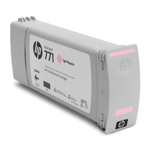 HP CE041A, 771 Ink Cartridge, Designjet Z6200 - Light Magenta Genuine