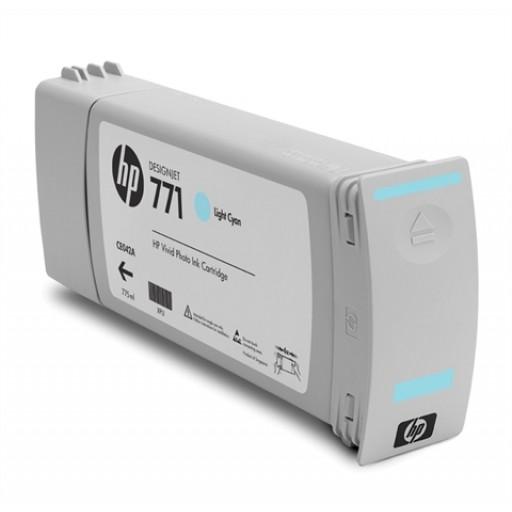 HP CE042A, 771 Ink Cartridge, Designjet Z6200 - Light Cyan Genuine