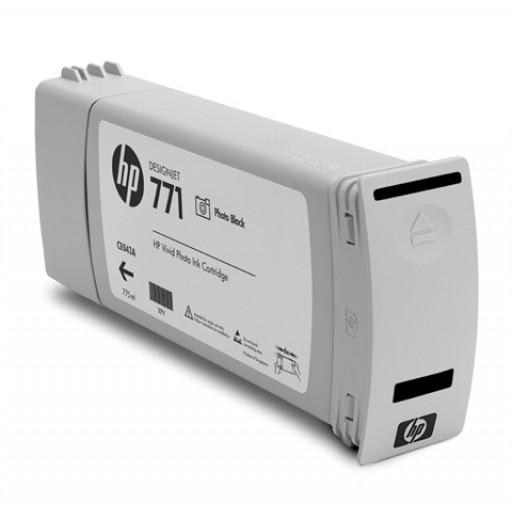 HP CE043A, 771 Ink Cartridge, Designjet Z6200 - Photo Black Genuine