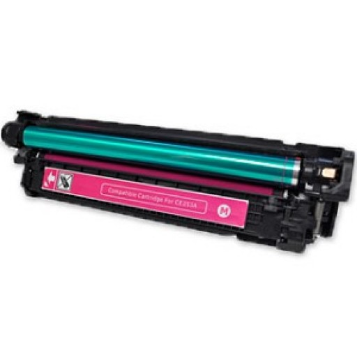 HP CE253A Toner Cartridge HC Magenta, CM3530, CP3520, CP3525 - Compatible