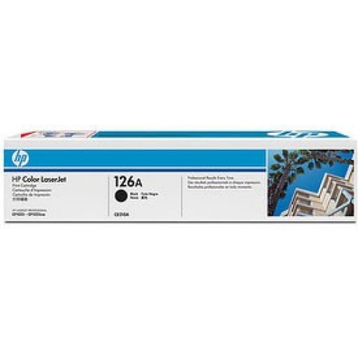 HP, CE310A, Toner Cartridge- Black, LaserJet CP1025, Pro 100- Original