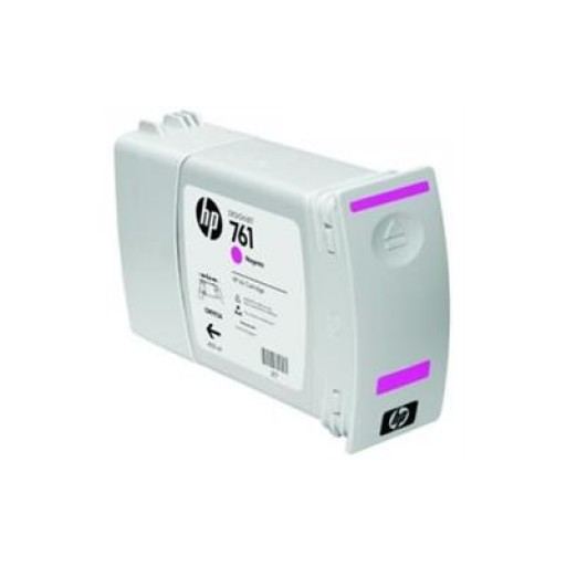 HP CM993A, 761 Ink Cartridge, Designjet T7100 - Magenta Genuine