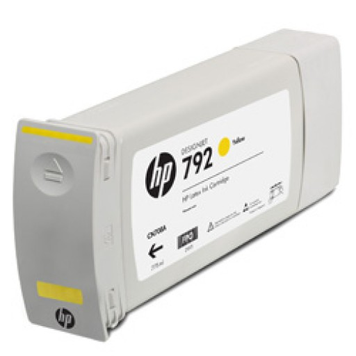HP CN708A, 792 Ink Cartridge Yellow, Designjet L28500-  Original